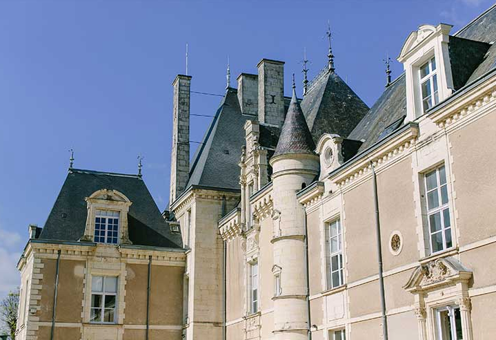 Beautiful Renaissance Chateau Wedding Venue in the Loire