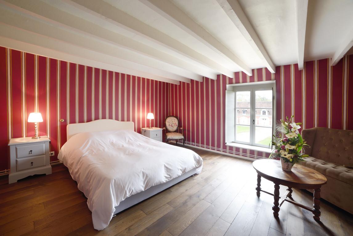 Lovely château wedding venue near Paris - bedroom