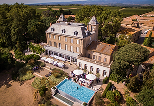 Beautiful chateau wedding venue with a large swimming pool situated at the heart of a small village near Carcassone, south of France. Sleeps 32, caters for up to 130