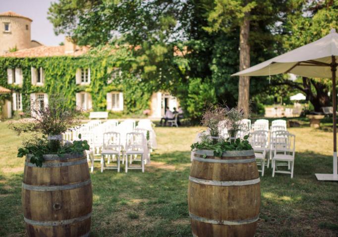 Historical Armagnac Castle ceremony
