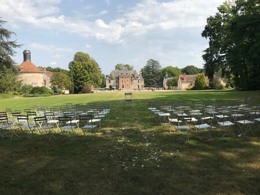 Lovely chateau wedding venue near Paris