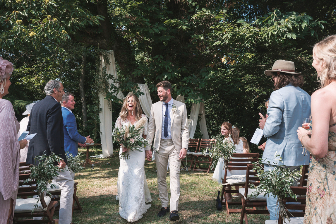 Majestic 19th century château in the South-west - The happy couple