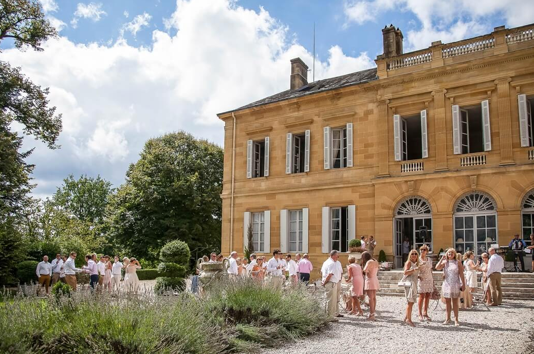 Luxury 19th century château venue - cocktail reception