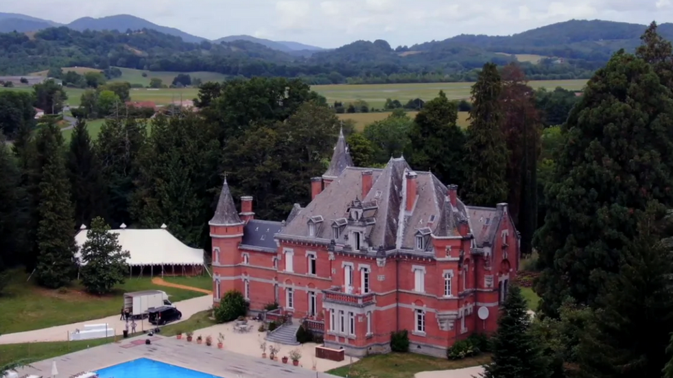 Majestic 19th century château in the South-west