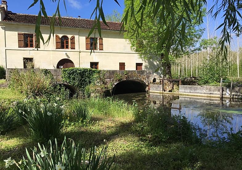 Enchanting 15th Century Watermill