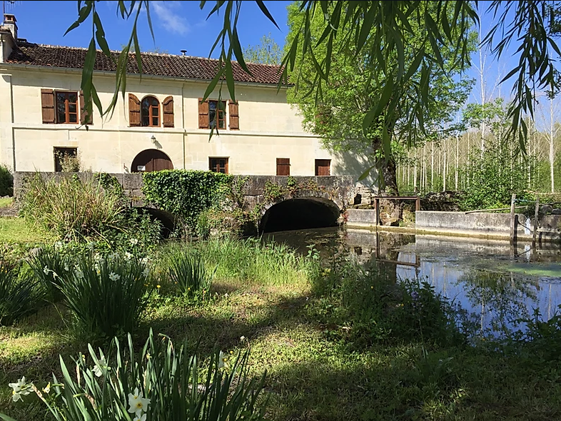 Enchanting 15th Century Watermill