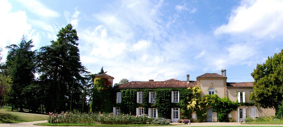Historical Armagnac Castle front