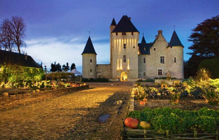 Romantic Castle in the Loire