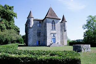Imposing 12 century castle estate in the Bergerac wine region, with heated pool, gym and lovely grounds - perfect for stylish DIY weddings
