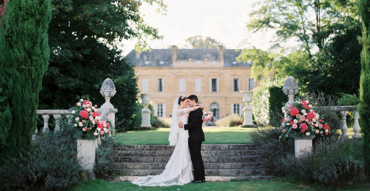Luxury 19th century château venue - newly weds