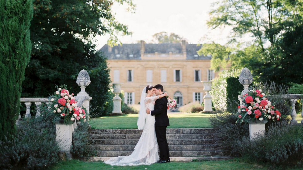 Luxury 19th century château venue - newly weds