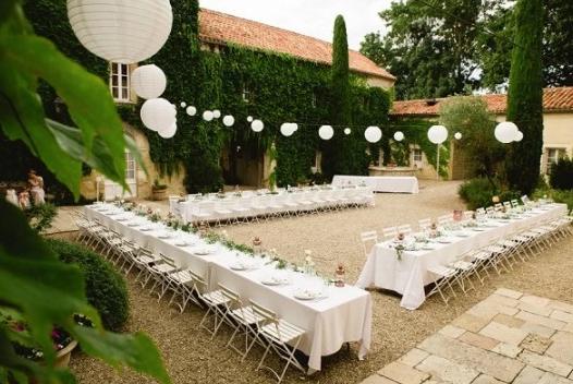 Historical Armagnac Castle Courtyard
