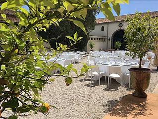 Enchanting wedding venue on the Mediterranean coast catering for up to 200 guests