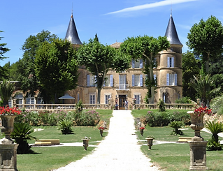 Luxury wedding venue in the south of France with pool, chapel, tennis court, ballroom and orangery. Sleeps 24, caters up to 300