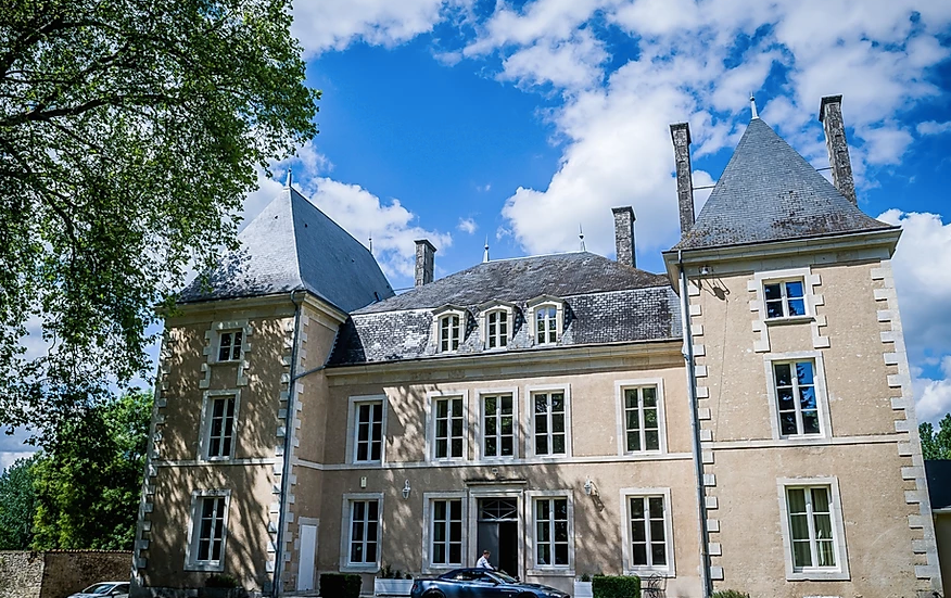 Elegant Chateau in the Charente