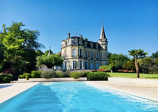 Romantic fairytale chateau offering modern touches of luxury whilst preserving its beautiful architectural heritage. Sleeps 16, caters for up to 100