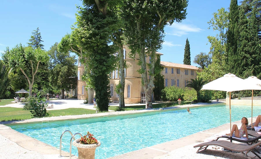 Sleeping Beauty Chateau in Provence