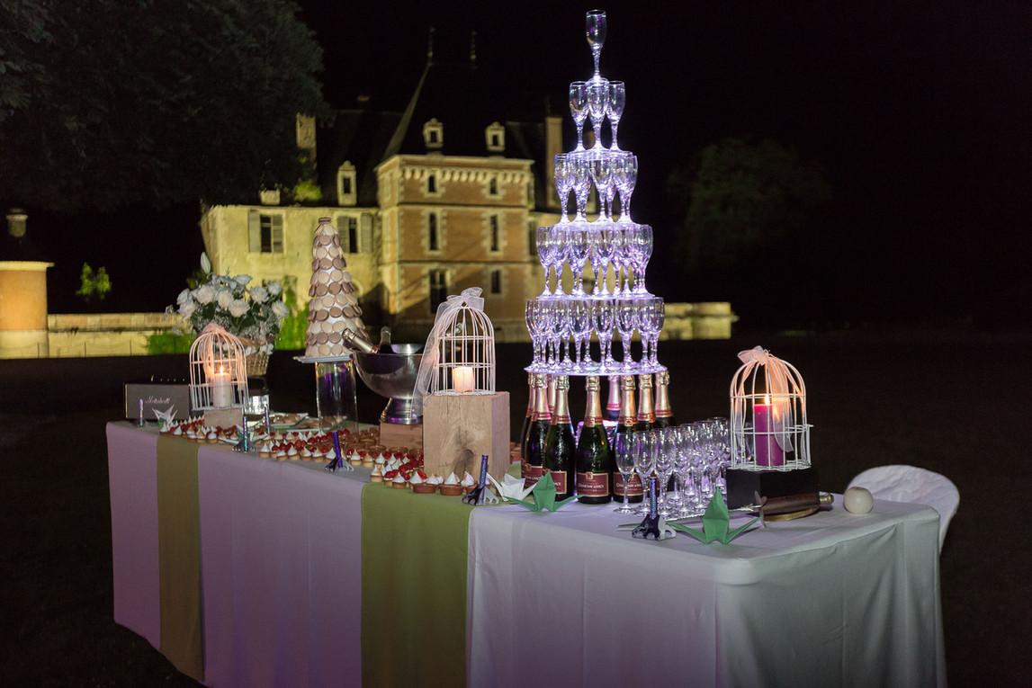 Lovely château wedding venue near Paris - buffet