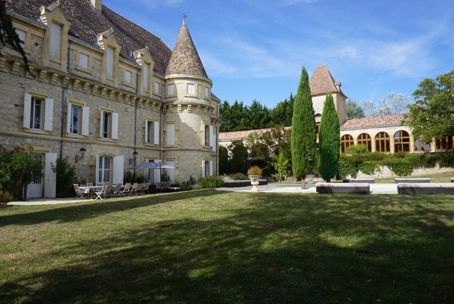 Elegant Woodland Chateau