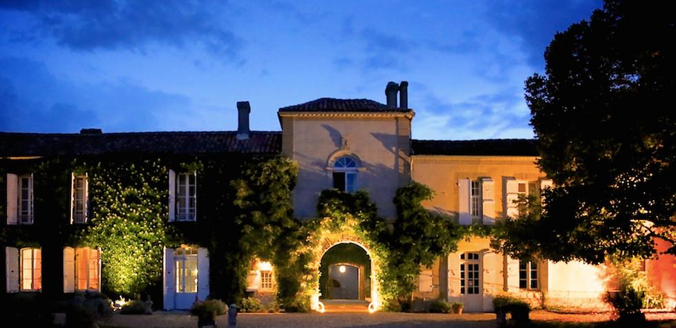 Historical Armagnac Castle night shot