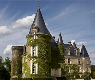A fairytale wedding chateau in the Dordogne with pool, helipad and private parkland. Sleeps up to 48, caters for 150 +