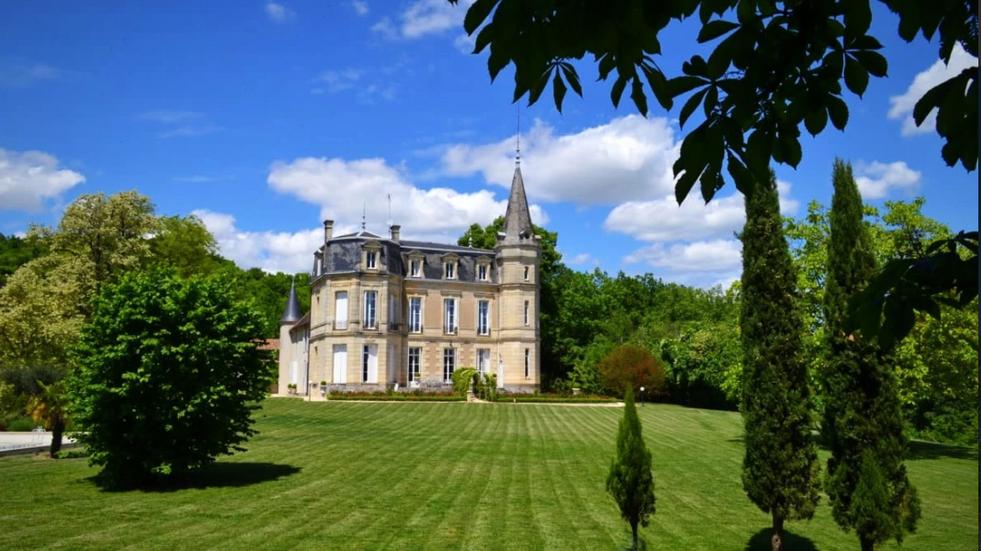 Fairytale Chateau near Bordeaux