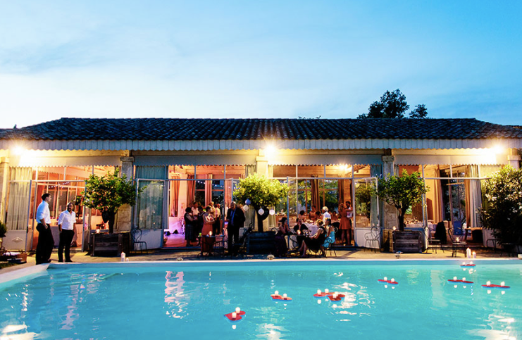Romantic Provençal Venue