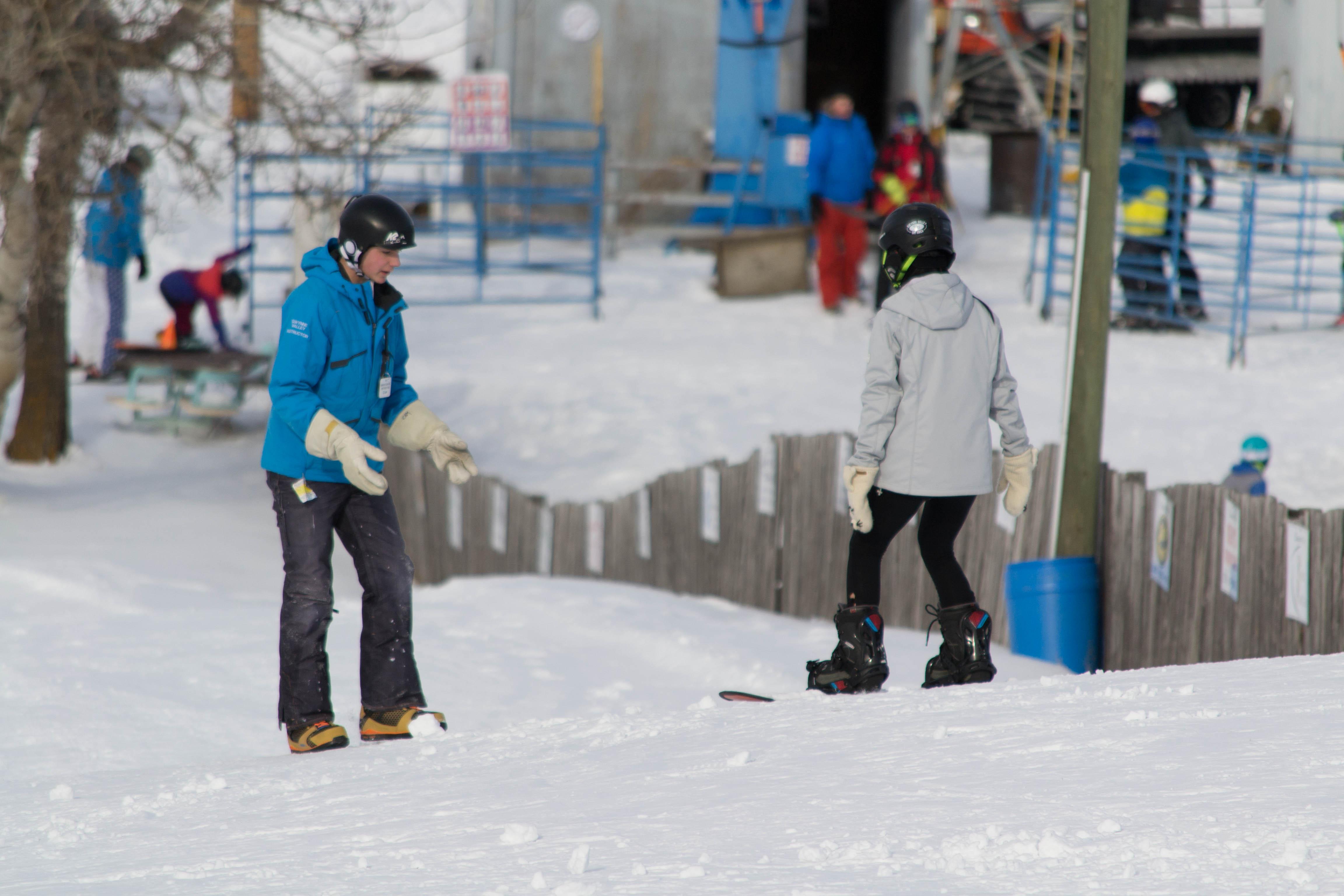 Snow school 4