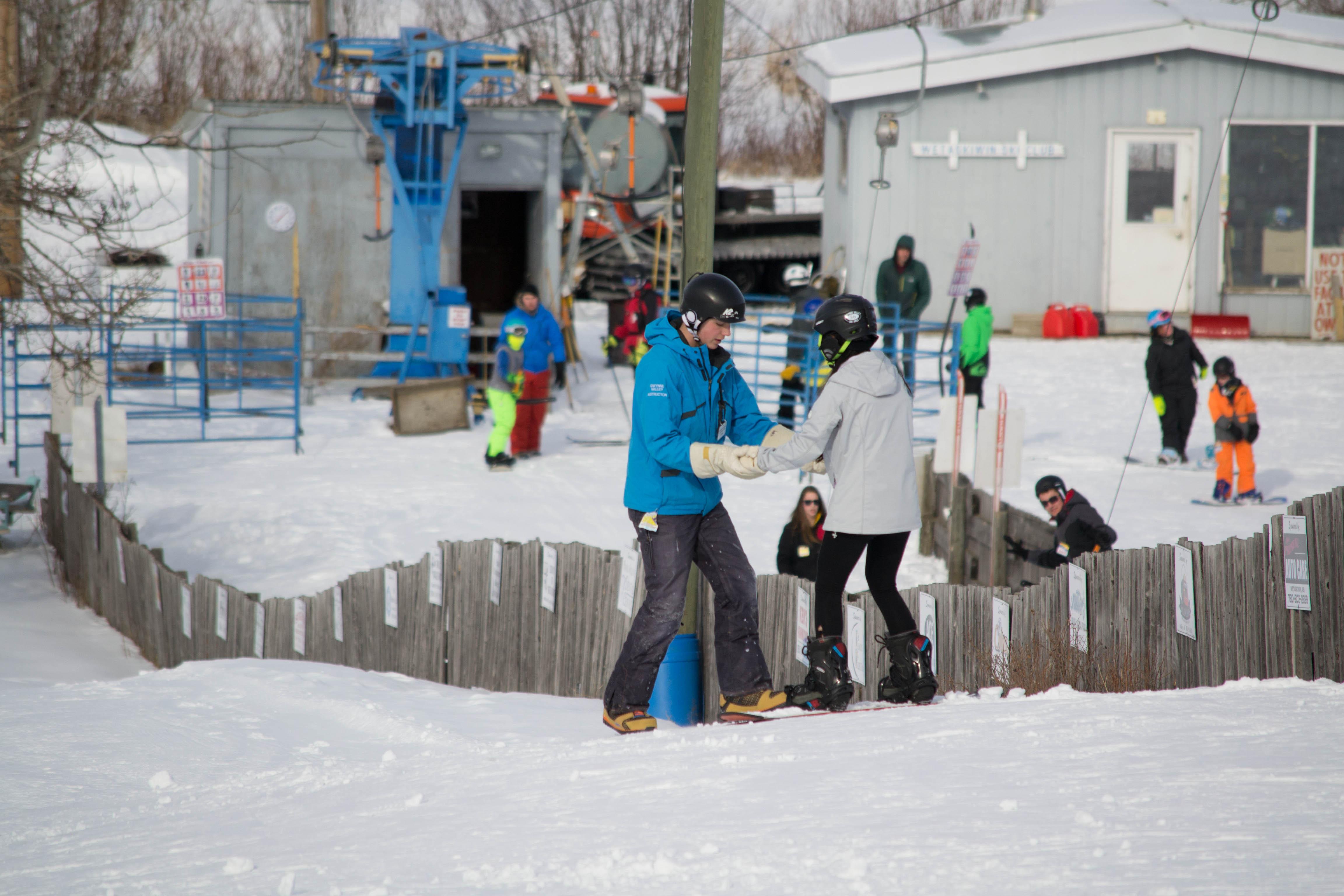 Friday Night Private Ski Lesson 7+yrs