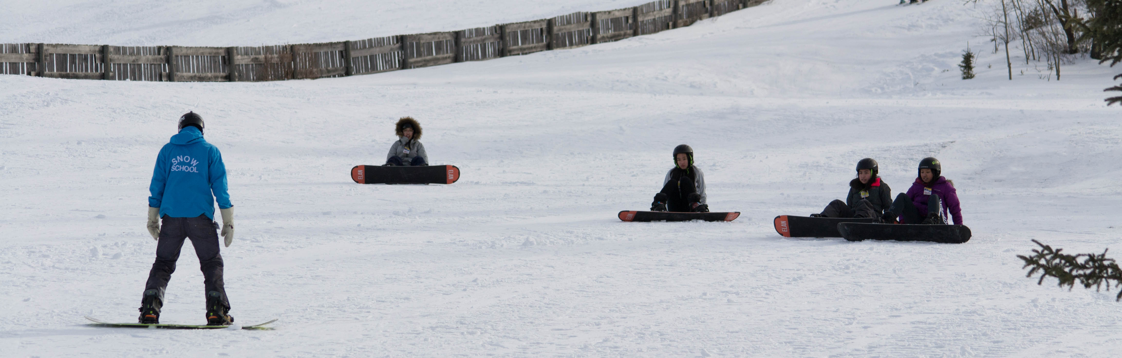 Snow school 7