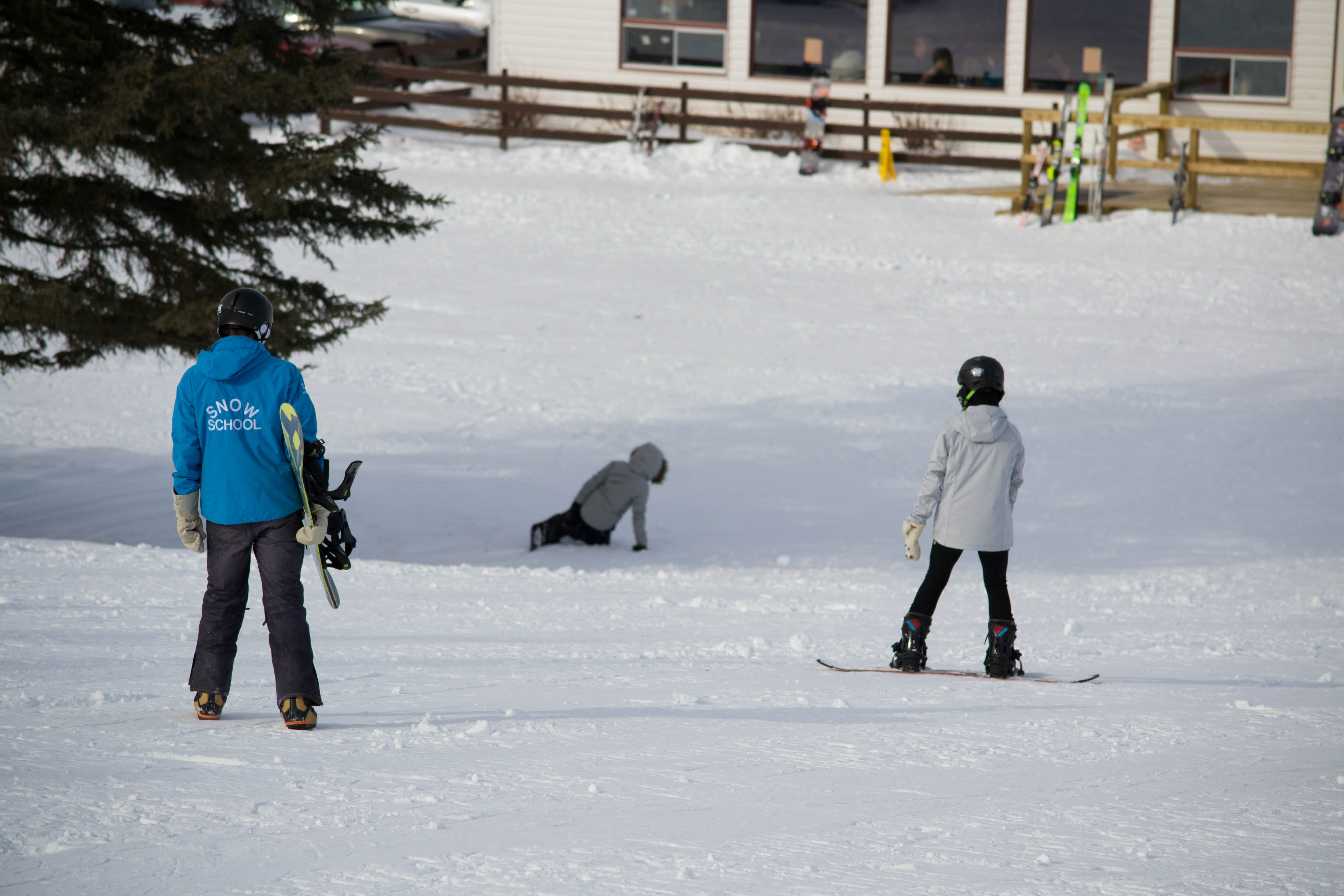 Snow school 5
