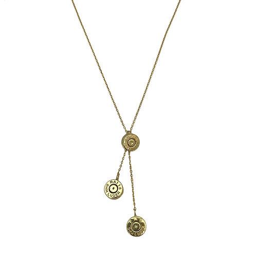 Bullet Cluster Necklace