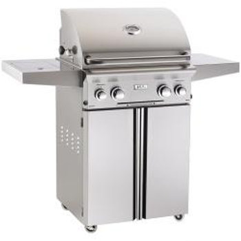 AOG  L-Series 24-Inch 2-Burner Freestanding Propane Gas Grill with Rotisserie