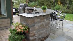 Affordable Hardscapes - Outdoor Kitchen