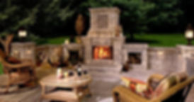 Outdoor Fireplace | Virginia Beach Patios