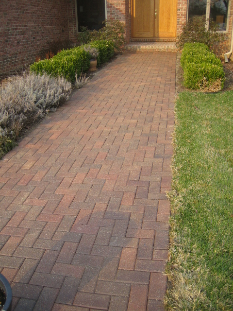 Paver Walkway - After