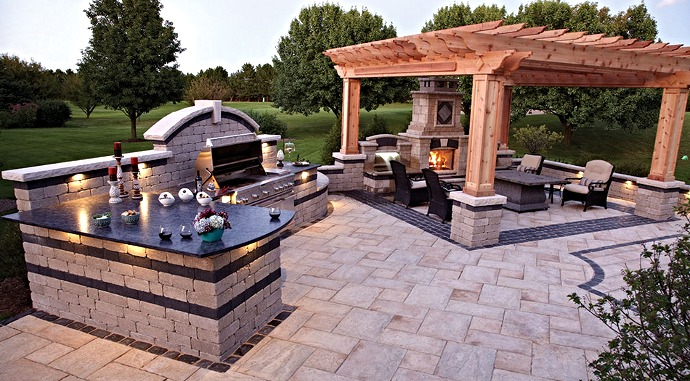 Affordable Hardscapes - Outdoor Living Area