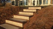 Project Spotlight: Hillside Stone Steps