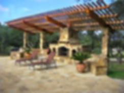 Custom Outdoor Fireplace   Virginia Beach Patios