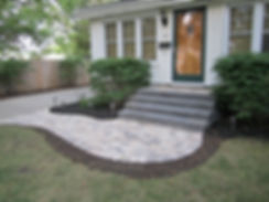 Virginia Beach step construction - paver steps - segmental block steps