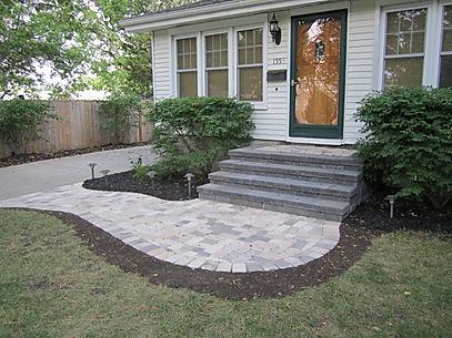 Virginia Beach step construction - paver steps - segmental block steps