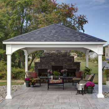 Outdoor Living Space - Covered Patio