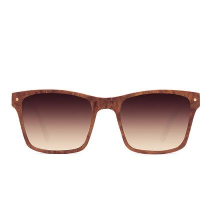 Tamarack Rose Brown Fade Sunglasses