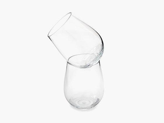 Plastic Wine tumbler (set of 2)