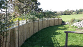 Bespoke Fencing and Trellis Newton Ferrers, Devon