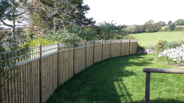 Bespoke Fencing and Trellis Newton Ferrers, Devon