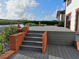 Composite Decking, North Devon.