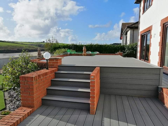 Composite Decking, North Devon.