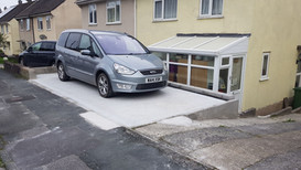 Driveway completed for a customer in Plympton, Plymouth.