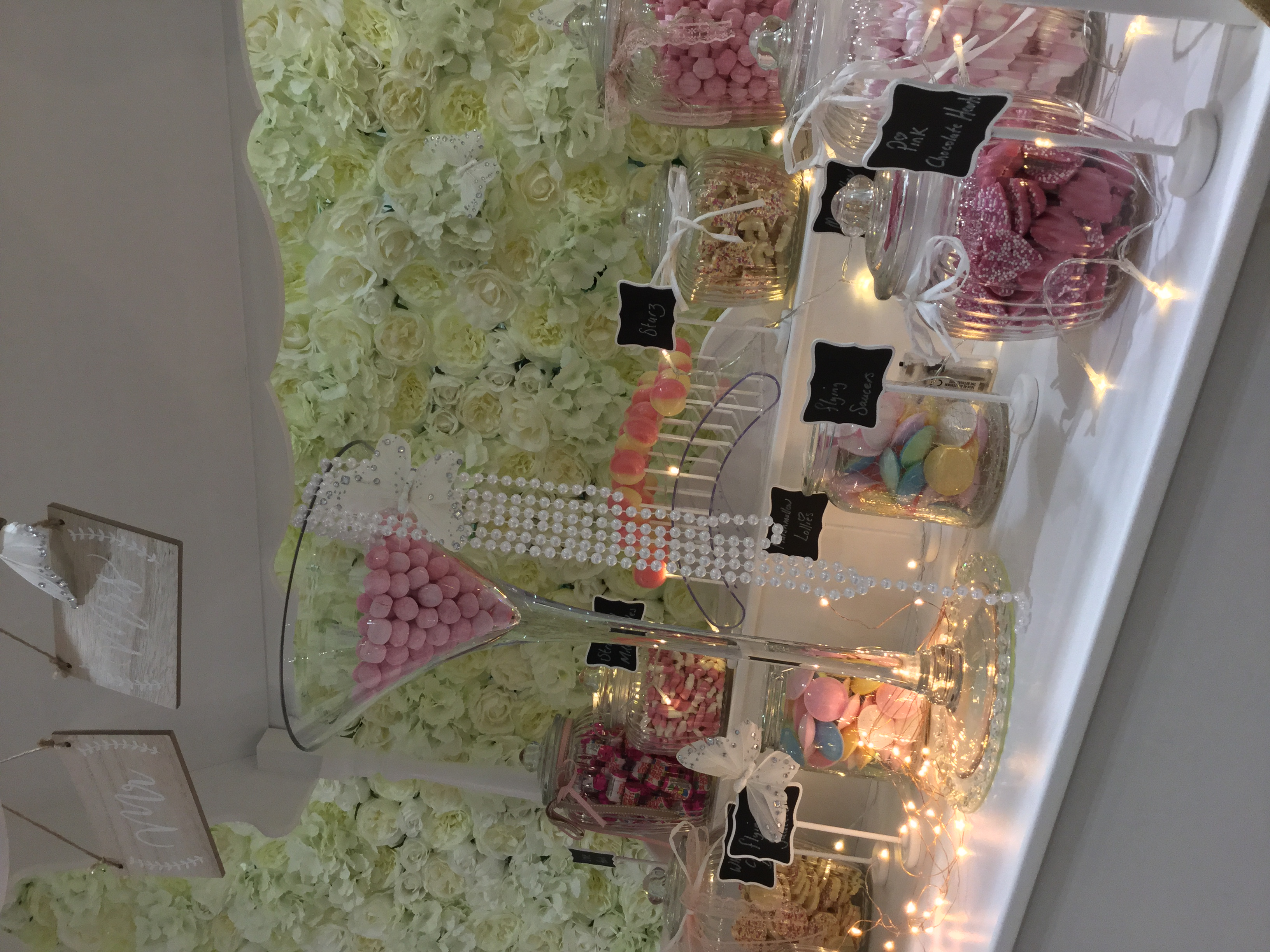 CANDY CART WEDDING HIRE LOVE LETTERS
